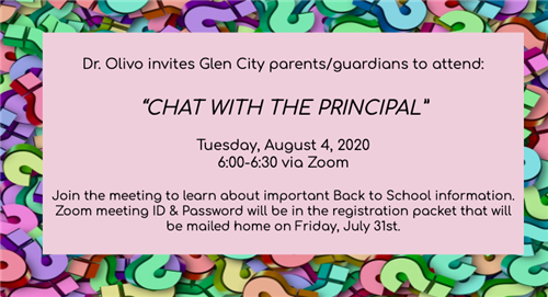 Chat w/ the Principal