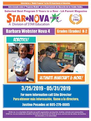 Barbara Webster STAR Education