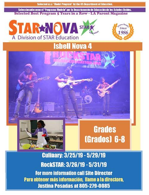 Isbell Middle School STAR Education
