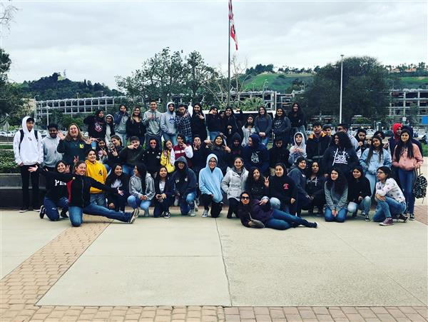 Grade 9 Intro to Ag students visit Cal Poly Pomona University, February 2019