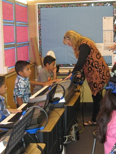 TK-3rd Grade, Music in the Classrooms