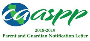 CAASPP Parent and Guardian Notification Letter