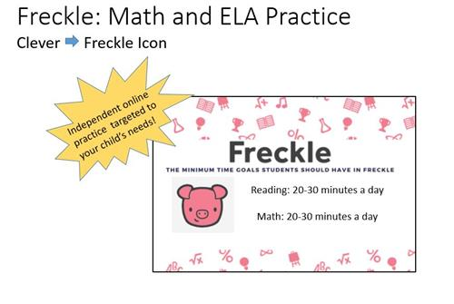 Freckle: Math and ELA Practice